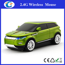 Road Mice Range Rover Evoque Car Wireless Computer Mouse - White