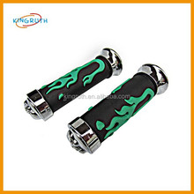 Green motorcycle hand grip handle cover fit for dirt bike motorcycle