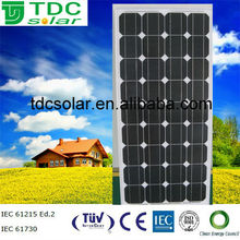 price per watt solar panels of 120w solar panel