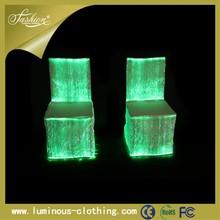 luminous fiber-optics for bar chair leg cover