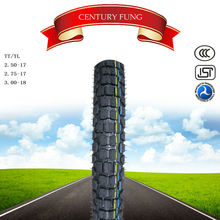 Made in China factory used motorcycle tires for sale motorcycle tubeless tyre 2.50-17TL