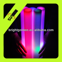 Colored Led Foam Glow Stick With 7 Flash Modes