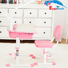 Ergonomic hot sale kids adjustable study table for children