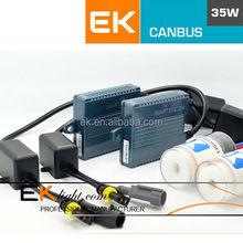 ASIC smart system canbus ballast hid xenon kit bi-xenon hid projector lens light angel eyes