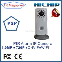 720P Wireless HD Linkage Video Alarm IP Camera work with PIR sensor, motion sensor