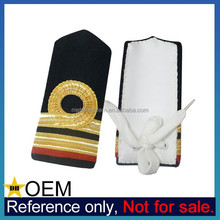 Wholesale Handmade Bullion Army Rank Insignia Custom Military Bar Epaulet