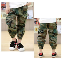 hot sales and best price wholesale kids camouflage military pants
