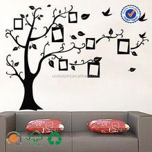 ısmarlama aile ağacı duvar çıkartmaları büyük duvar vinil duvar sticker