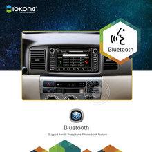 Iokone Car Radio DVD Player GPS With Bluetooth For Toyota Corolla RAV4