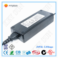 Single Output Type 110/240VAC Input Voltage 24V 5A LED Switching Power Supply