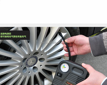 Directly use 12V car auto pump air compressor tire ball inflator for jump starter 80PSi gauge car jump starter