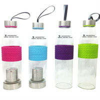 Hot Sales Glass Water Drinking Bottle With Filter