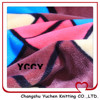 custom colourful square printing snuggle flannel for garment