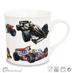 high quality decal ceramic mug top sale new design top sale;motorcycle