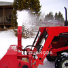 3 point hitch snow blowers used for road cleaning