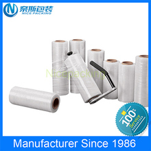 Hot Sale! Casting LLDPE Stretch Film for Pallet Wrap Film by hand