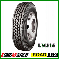 Roadlux Tire manufacturer 295/75R22.5, on & off road tire 295 75R22.5 with high performance