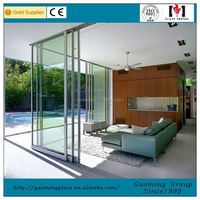 China very good supplier fire rated glass sliding door with professional engineers team DS-5758