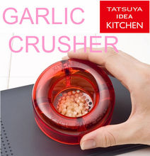 Garlic chopper just one push for minced garlic easy to clean up