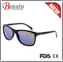 New arrival mat plastic simple sunglasses with decoration