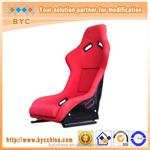 Bucket Red FRP Adult Car Seat Sports Car Seat