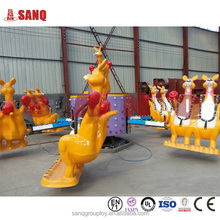 Zhengzhou Amusement Park Games Jumping Kangaroo Thrill Rides/CE Certificate Amusement Thrill Jumping Kangaroo Rides