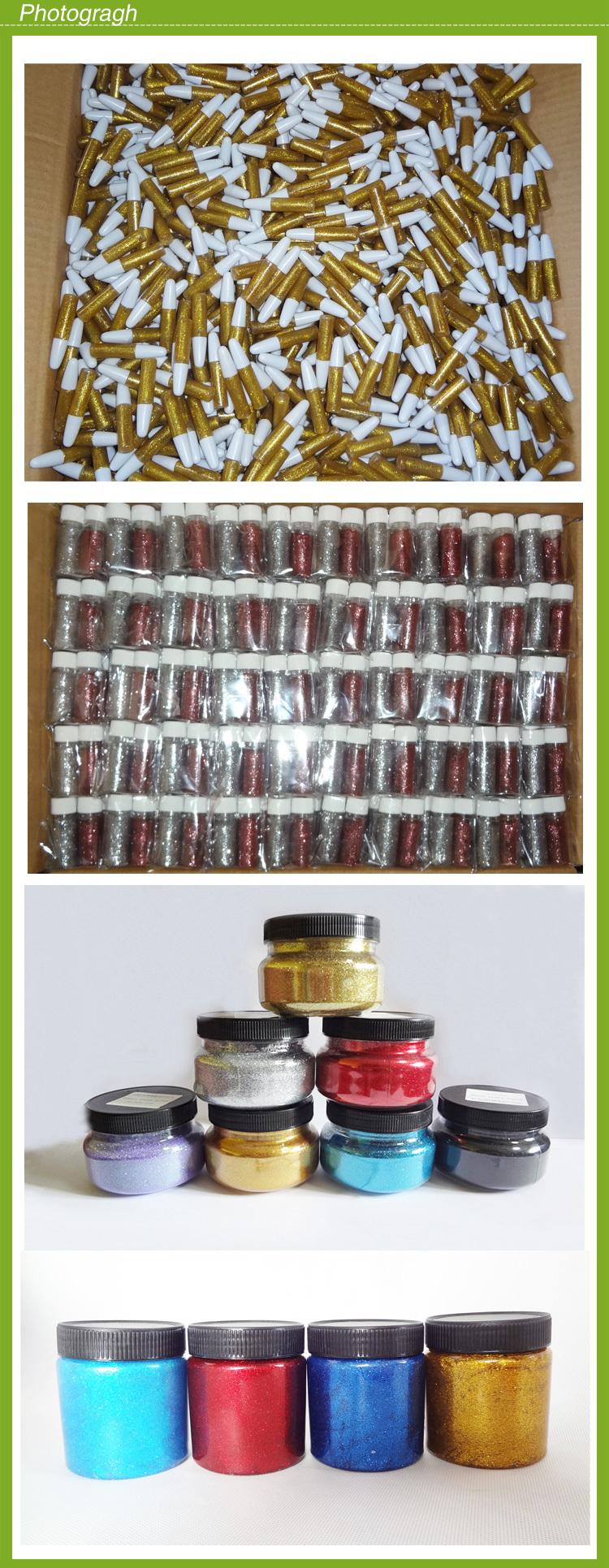 Colorido e inodoro cola glitter / wholsale maior brilho