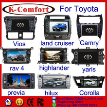 K-comfort cheap price for toyota crown car radio for sale