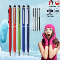 2015 promotion stylus aluminium ballpen