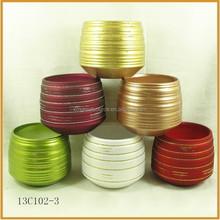 glitter ceramic christmas flower pots terracotta pots