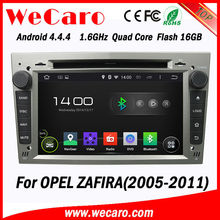 WECARO FACTORY Most Popular Quad Core Android Car Bluetooth Radio for Opel Zafira 2005 - 2011