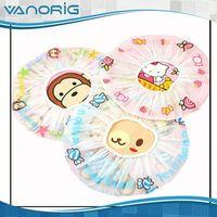 Latest Promotional BEST SALE PEVA satin washing shower cap