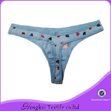 cotton spandex korean hot g-string bikini children