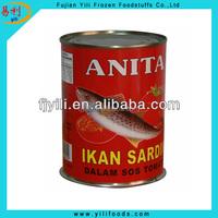 Wholesale canned mackerel food