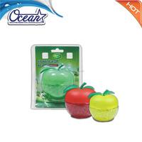 Wholesale 75g green apple air freshener