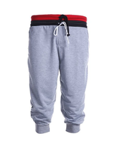 Men's Jogger Short Sport Baggy Pants Loose Slacks Harem Trousers