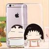 plastic hard uv print custom case for iphone6 factory wholesale