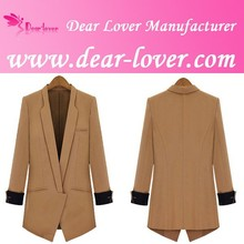Ladies Women Long mink coats from china 2014