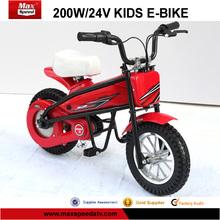 200w, eléctrica 24v bici de la suciedad para los niños