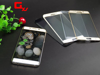 New Factory Price 3D rounded edge washable anti-oil plating tempered glass screen protector for Samsung S6 edge
