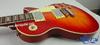 China Aiersi hot sale color Flame Maple Veneer Lp style guitar