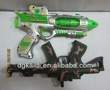 Hot vender arma de brinquedo de plástico para crianças com música
