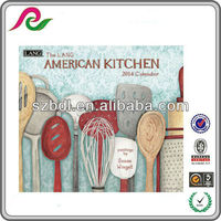 2014 Printable American Kitchen Wall Year Calendar