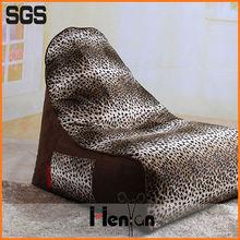 wholesale custom printed shark shaped beanbag chair, giant beanbag