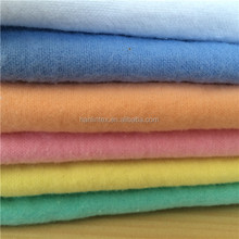 car cleaning colth dyed cotton flannel cotton brush fabric