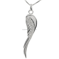 Silver Angel Wing Charm Pendant