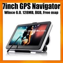 """7 """" GPS de navegación con una función de 8 GB y el envío más nuevo GPS mapas"""