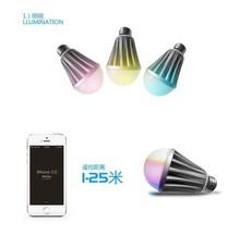 2015 Top Selling Smart Lighting / LED Bluetooth Bulb Stage Colorful Led Light Bulb