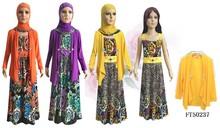 new style children girl islamic muslim abaya FT50237