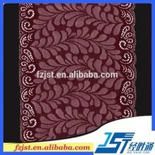 de alta calidad con cuentas de color rojo bordado de encaje guipur 2015 adorno